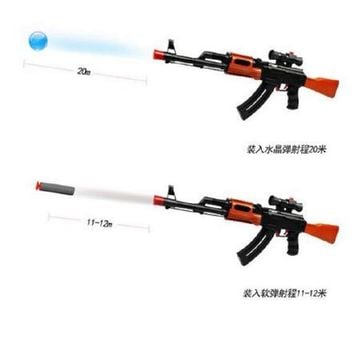 AK47 Elite Soft Bullet live CS plastic ABS Toy gun Sniper Rifle Capable Of Firing Bullets Water Soft Crystal Paintball toys gun
