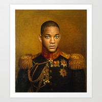 Will Smith - replaceface Art Print by Replaceface