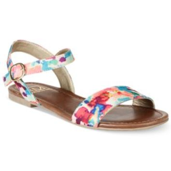 Material Girl Kim Two-Piece Flat Sandals | macys.com