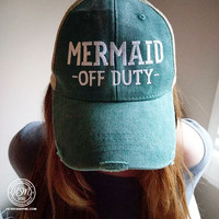 Mermaid Off Duty
