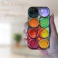 iphone 4s case iphone 4 case - Watercolor Set iPhone Case paintbox hard case