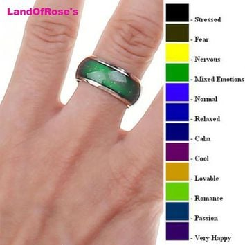 Mood Emotion Feeling Mood Changeable Ring