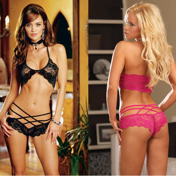 On Sale Cute Hot Deal Ladies Sexy Underwear Bra Lace Panties Exotic Lingerie [6596857859]