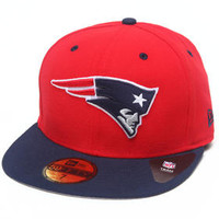 New England Patriots Nfl Two Tone 5950 Fitted Hat