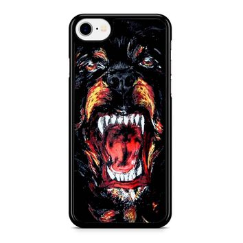 Givenchy Rottweiler Face Iphone 8 Case