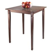 Pub Table Wood/Toasted Walnut - Winsome : Target