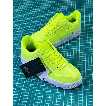 Nike Air Force 1 Low Af1 07 Lv8 Patent Leather Pack Green Aj9505 9215fbf2f83d