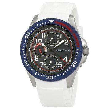 Nautica Multi-Function Navy Dial Mens Watch A13683GS