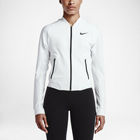 The Nike Premier WB Women's Tennis Jacket.