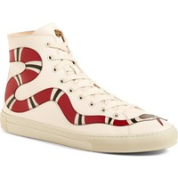 Gucci Major Snake High Top Sneaker (Women) | Nordstrom
