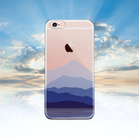 iPhone 6 case Clear iPhone 6S case Mountain Samsung galaxy S6 case transparent Samsung galaxy S5 case Note 5 case iphone 5S case LG G4 case