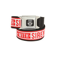 Sleeping With Sirens Anchor Seat Belt Belt | Hot Topic