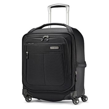 Samsonite Luggage, 19-inch MIGHTlight Expandable Spinner Carry-On (Black)