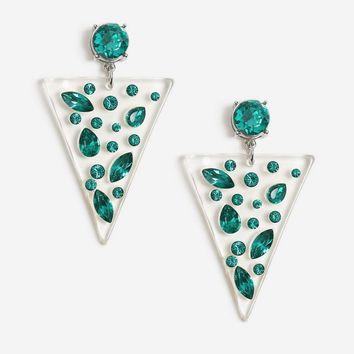 Triangle Drop Earrings | Topshop