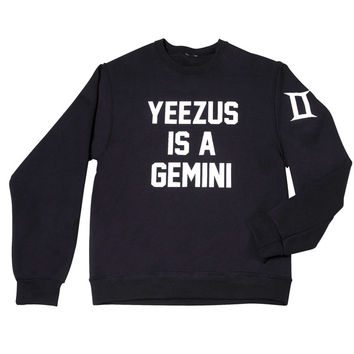 Yeezy Is A Gemini Sweater