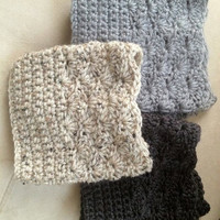 CROCHET boot CUFFS/SOCKS Get 2 for 25 or 3 for 38