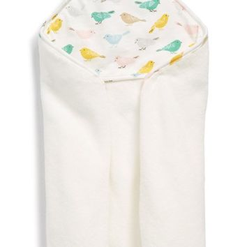 Infant Mini Boden 'Super Soft' Hooded Towel