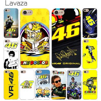 Lavaza Valentino Rossi Vr 46 Devil Motorcycle Hard Coque Shell Phone Case for Apple iPhone 8 7 6 6S Plus 5 5S SE 5C 4S X 10 Cove