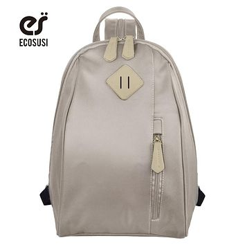 ECOSUSI Sample Backpacks For Teenage Girls Cute School Bags For Teenagers Book Bag For Student Mochilas
