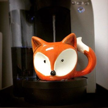 Foxy Mug - Fox Face Coffee Mug
