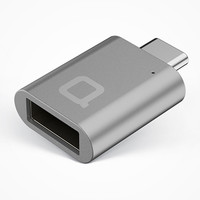 Charge While You Work with This Small, Sleek USB-C to USB 3.0 Adapter