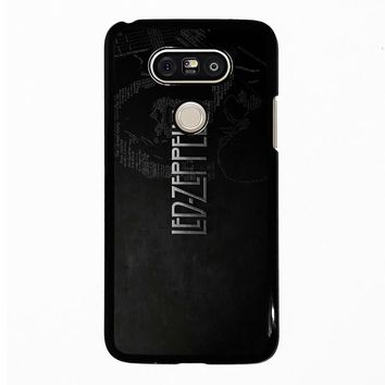 LED ZEPPELIN LYRIC LG G5 Case Cover