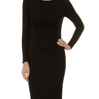 Billie and Blossom Black ruched dress - View All - Dresses - Dorothy Perkins