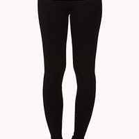 FOREVER 21 Foldover Yoga Leggings