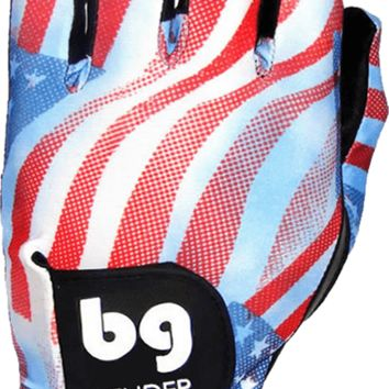 GOLF GLOVE ● USA Flag (Liberty) Spandex - Cabretta Leather