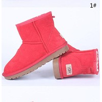 """""""UGG"""" New Fashion Women Male More Color Fashion Wool Snow Boots"""