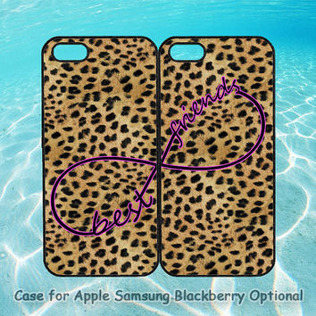 Best Friends and leopard for iphone 5 case, iphone 4 case, ipod 4, ipod 5, note 2, Samsung galaxy S3, Samsung galaxy S4, blackberry z10, q10