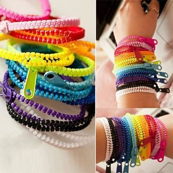 Kawaii Zipper Bracelet (Set of 10)