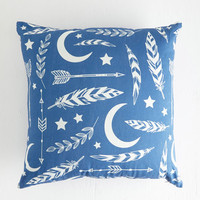 ModCloth Rustic Aim for the Moon Pillow