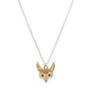 French Connection Fox Pendant Necklace at asos.com