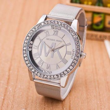PEAPYV2 MK Fashion Diamonds Alloy Watch Masonry Watches Business Watches