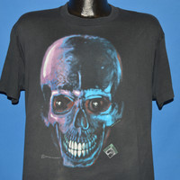 80s Headbone Graphics Skull X-Ray t-shirt Large