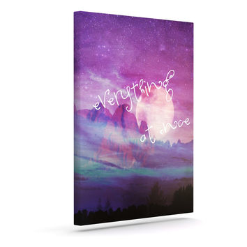"Monika Strigel ""Everything at Once"" Outdoor Canvas Wall Art"