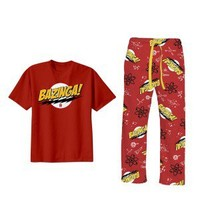 The Big Bang Theory Bazinga Pajama Set
