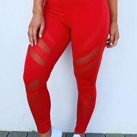 It's Worth It Pants: Red
