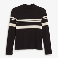 Monki | View all new | Striped long sleeve