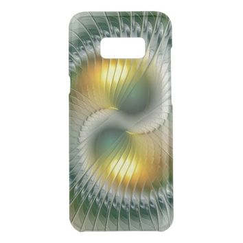 Yin Yang Green Yellow Abstract Colorful Fractal Get Uncommon Samsung Galaxy S8 Plus Case