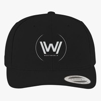 Westworld Brushed Embroidered Cotton Twill Hat