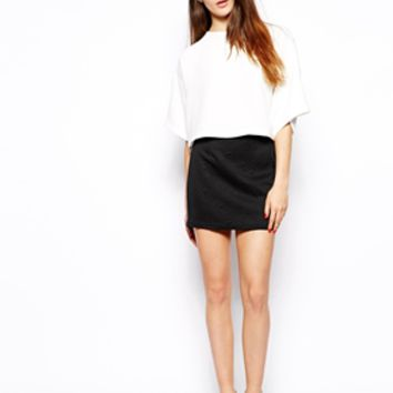 TFNC Sibe Mini Skirt - Black