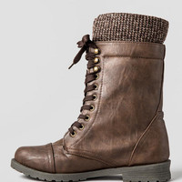 Distress Me Not Combat Boot
