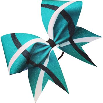 Glitter sublimation bow, available in any color!