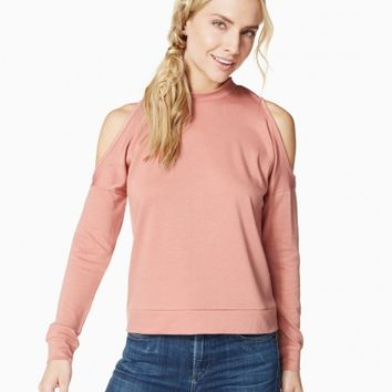 Justine Cold-Shoulder Top | Charming Charlie
