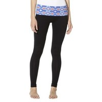 Mossimo Supply Co. Junior's Skinny Yoga Pant with Fold Over Waist - Assorted Colors