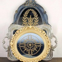 Antique style trays perfect for #classic décor