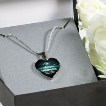 Philadelphia Eagles Necklace Handcrafted