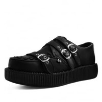 TUK Shoes Triple Strap Viva Low Creeper | Attitude Clothing